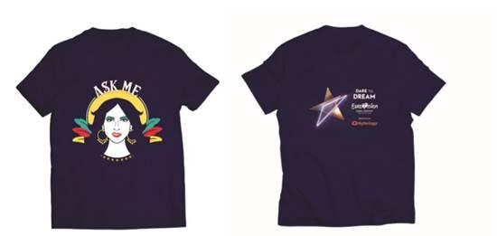 סקיצות של החולצות שילבשו המתנדבים / צילום: באדיבות עיריית תל אביב