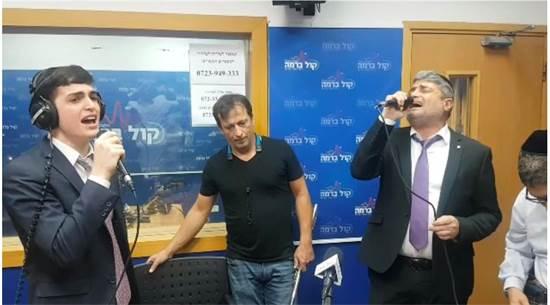 יצחק חדאד, מימין, מתמונה מתוך ערוץ יוטיוב / מתוך פרויקט הבוטים הגדול