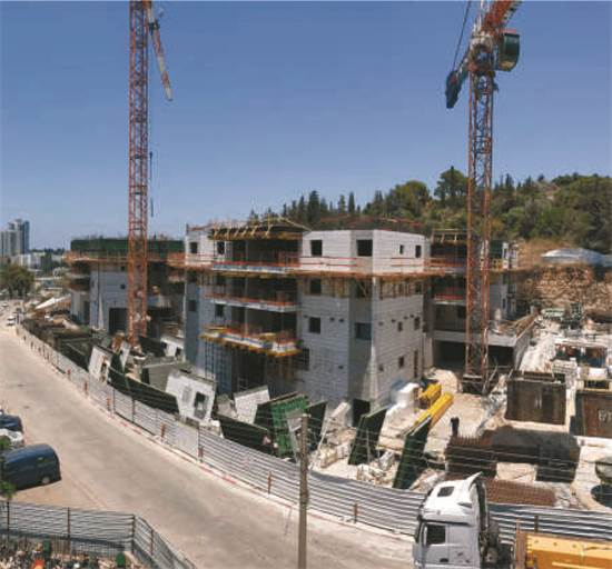 פרויקט פינוי בינוי של פרשקובסקי בחיפה / צילום: מצגת החברה