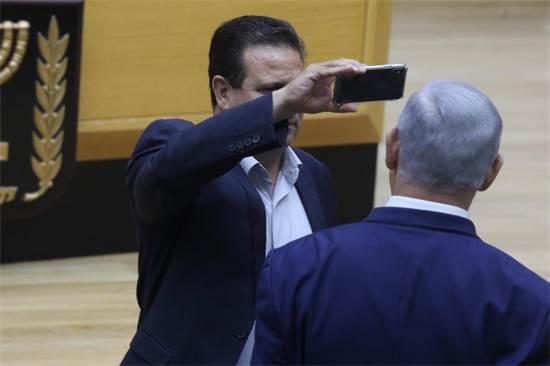 איימן עודה נגד נתניהו / צילום: דוברות הכנסת