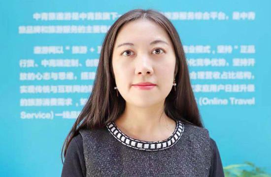 """גב' בלה הואנג, מנהלת מחלקת המזרח-התיכון ואפריקה של China CYTS Tours Holding/צילום: יח""""צ"""