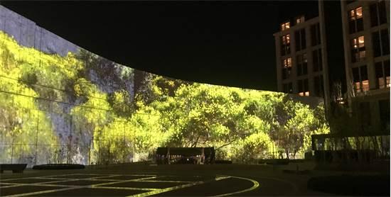 תצוגת אמנות בקוריאה / צילום: Quayola (UK), Pleasant Places, 2016. 28 min, 4K landscape video. Edition of 6. Courtesy of bitforms gallery, New York