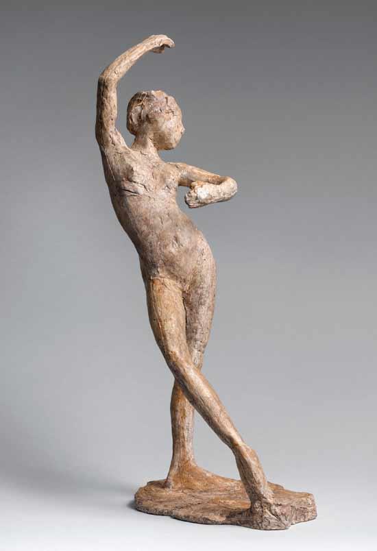 אחד מפסלי דגה שיעביר גרוס כבירי למוזיאון הרוסי / צילום הפסל: באדיבות קרן מ.ת. אברהם