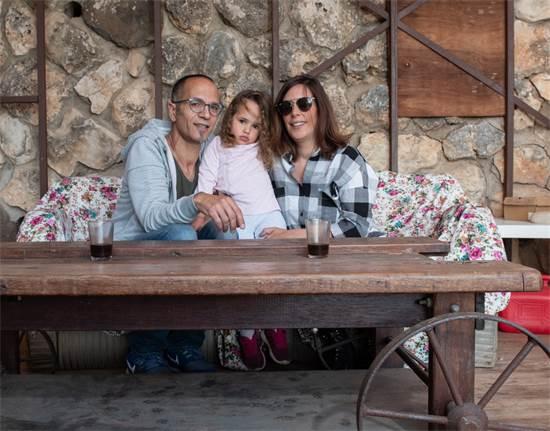 משפחת חן, קיבוץ כפר הנשיא / צילום: אייל מרגולין