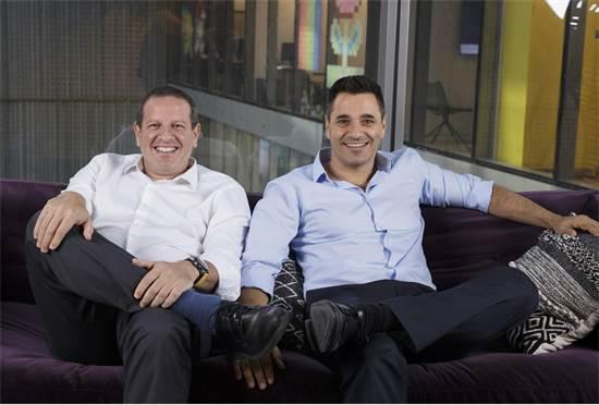 """דרור פלדהיים ויואל בר־אל, מייסדי טראקס / צילום: יח""""צ"""