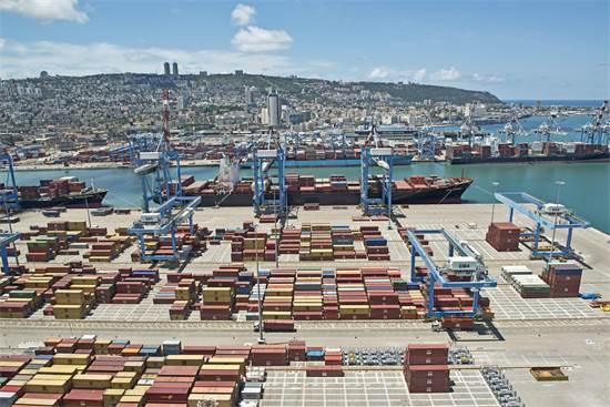 נמל חיפה. המטרה להפוך לשער מוביל לסחורות מכל המזרח התיכון / צילום: ורהפטיג ונציאן