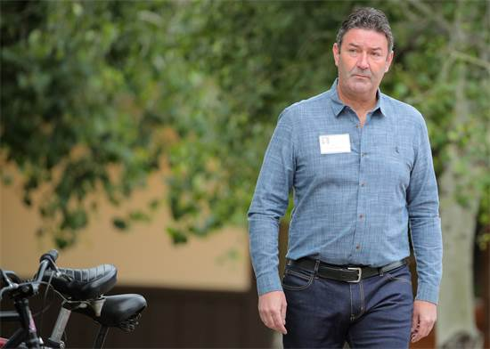 """סטיב איסטרברוק, מנכ""""ל מקדונלד'ס המפוטר / צילום: רויטרס"""