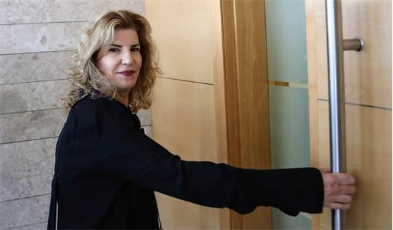 הדס שטייף מגיעה לדיון בבית המשפט / צילום: שלומי יוסף