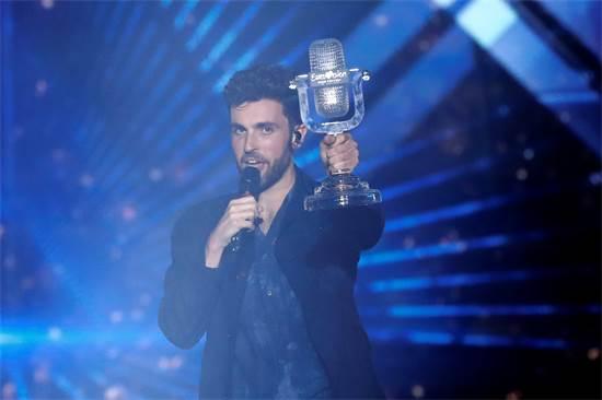 דאנקן לורנס, הזוכה באירוויזיון 2019 / צילום: REUTERS/Ronen Zvulun
