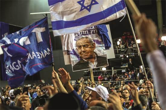 מטה נתניהו חוגג ניצחון בבחירות / צילום: שלומי יוסף, גלובס