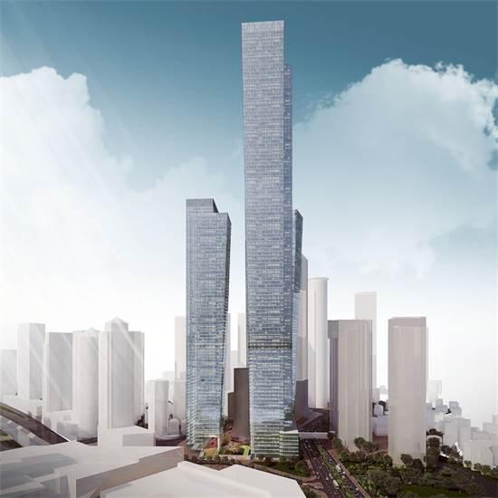 המגדל הגבוה בישראל / הדמייה: ישר אדריכלים