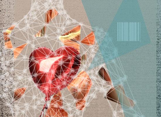השתלת איברים מודפסים - לב / קולאז': טלי בוגדנובסקי