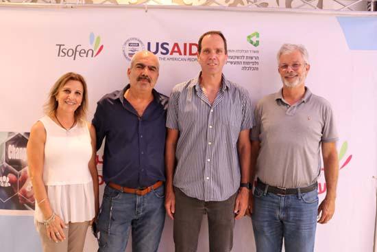 דדי פרלמוטר, רוני פרידמן, סאמי סעדי ורותי זמיר / צילום: ג׳מיל מחאמיד