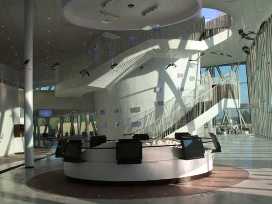 המרכז החדש / צילום: אורלי גנוסר