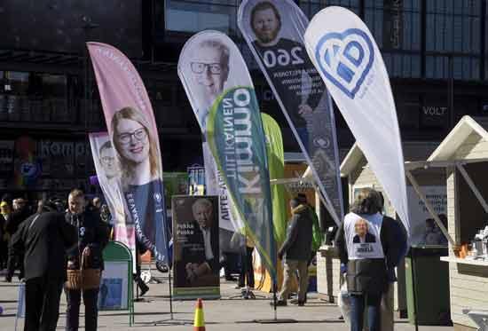 בחירות בפינלנד/ צילום: רויטרס