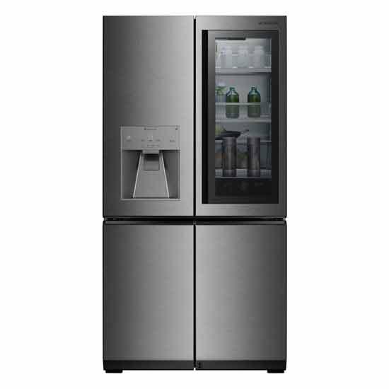 לראות דרך דלת  המקרר של LG / צילום: יחצ
