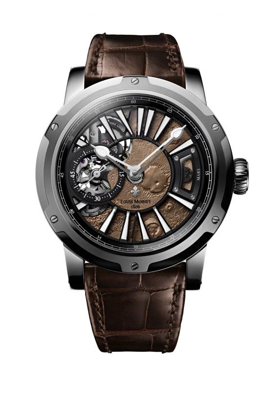 שעון מעור קרוקודיל עם פיסה ממאדים/ צילום: יחצ