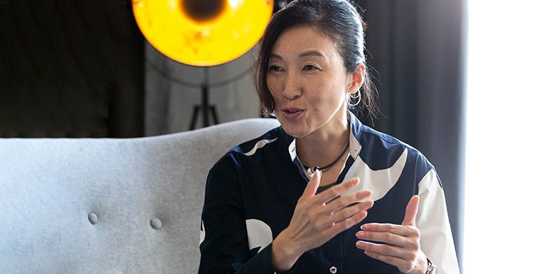 """צ'יקה קאקו, המהנדסת הראשית של לקסוס/צילום: יח""""צ לקסוס"""