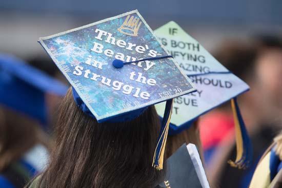 טקס סיום באוניברסיטה בדלאוור /צילום: Jerry Habraken, The News Journa