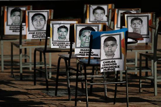 כמה מ־43 הסטודנטים הנעלמים שזעזעו את מקסיקו / צילום: רויטרס