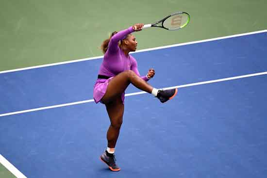 הטניסאית סרינה וויליאמס/ צילום: רויטרס - Danielle Parhizkaran