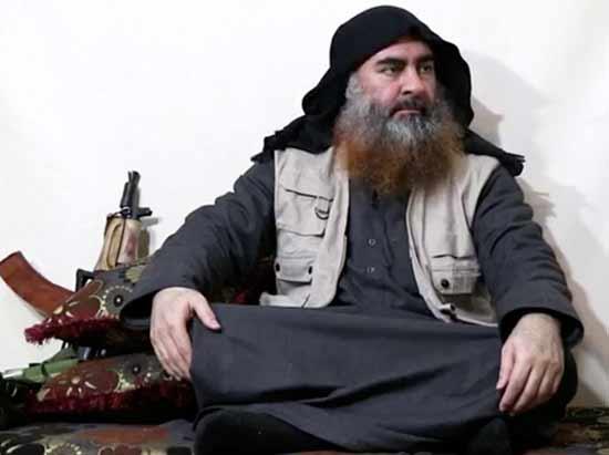 אבו בכר אל־בגדאדי, מייסד דאעש  /  רויטרס - Rodi Said, Reuters TV
