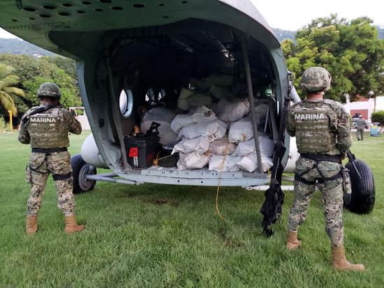 החרמת קוקאין במקסיקו / צילום: רויטרס