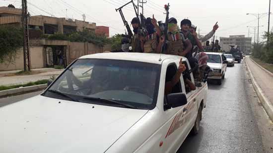 כוחות דאעש בעיר מוסול בעיראק בשנת 2014.  / צילום: רויטרס