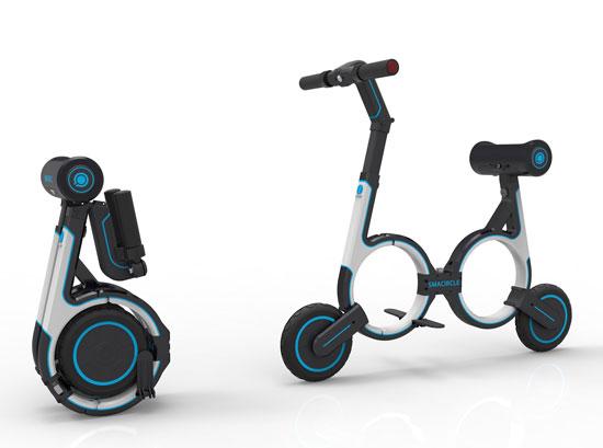 אופניים חשמליים  ממוזערים ומתקפלים/ צילום: יחצ