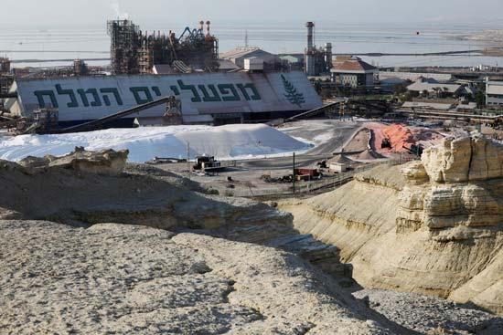 מפעלי ים המלח / צילום:  רויטרס - Amir Cohen