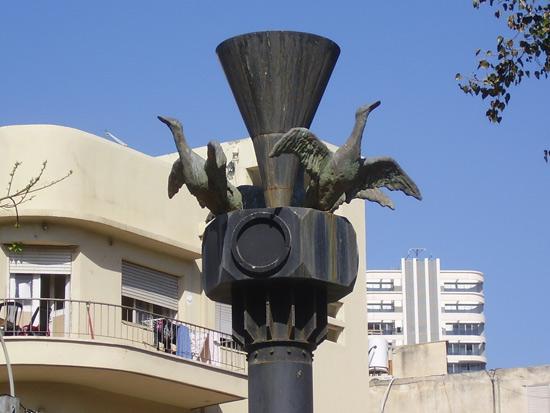 """פסל של מוטי מזרחי / צילום: ד""""ר אבישי טייכר"""