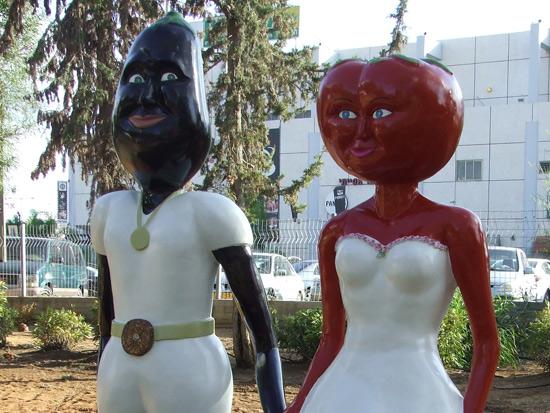פסלים של סטודיו 16 בחולון / צילום: סטודיו 16
