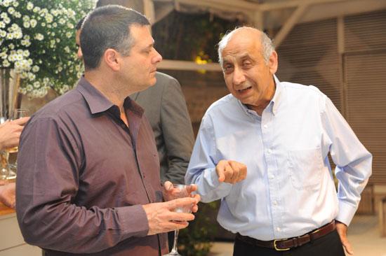 יצחק סוארי ואבי צור / צילום:  יחצ גדי טיארה