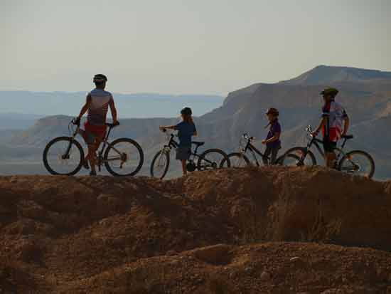 שבילאופניים ברמת נגב / צילום: טל גליק