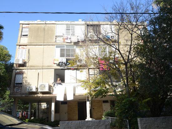 הבניין ברחוב בלפור 9 בנתניה. / צילום: איל יצהר