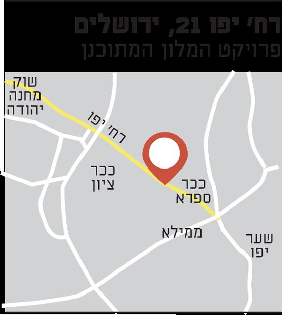 רח' יפו 21, ירושלים