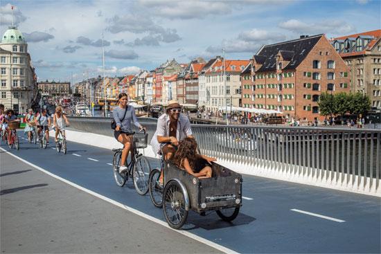 קופנהגן-שבילי אופניים/ צילום:   Shutterstock/ א.ס.א.פ קריאייטיב