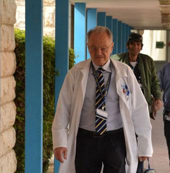 פרופסור בוריס יופה/ צילום: דוד אביעוז, בית חולים ברזילי