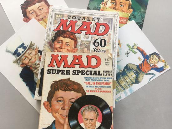 גליונות MAD מגזין