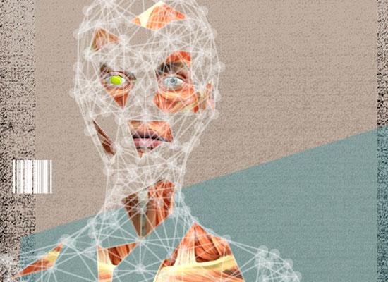 השתלת איברים מודפסים - קרנית / קולאז': טלי בוגדנובסקי