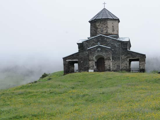 כנסיה כפרית אופיינית/ צילום: יותם יעקובסון