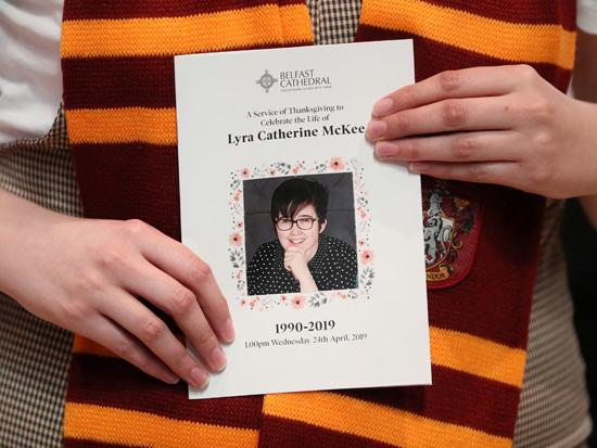 הפגנה למען העיתונאית ליירה מקי שנרצחה /  רויטרס