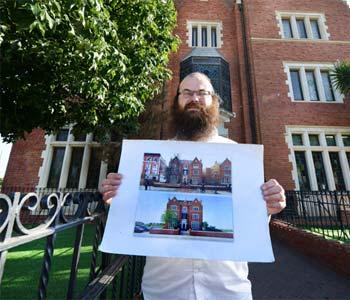 דניאל רוזנטל, מנהל ההעתק המקומי של בית הרבי בברוקלין / צילום: איל יצהר, גלובס