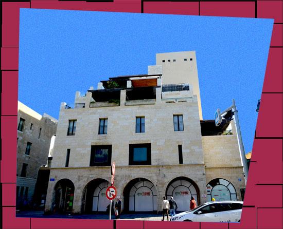 בנין רחוב שדרות ירושלים 19 יפו / צילום: איל יצהר