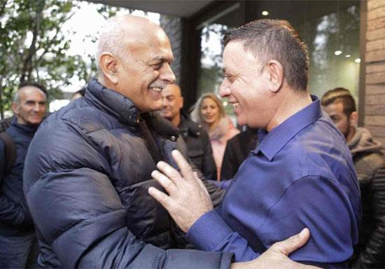 אבי גבאי ואמל אסעד/ צילום: אלעד גוטמן