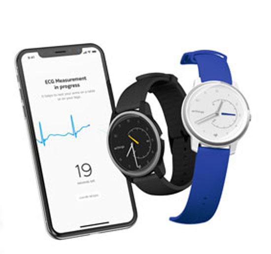 שעון בריאותי של חברת Withings/ צילום: רויטרס