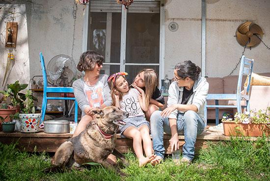 רעות גת ואוריאן טובול, מעלה גמלא/ צילום: אייל מרגולין