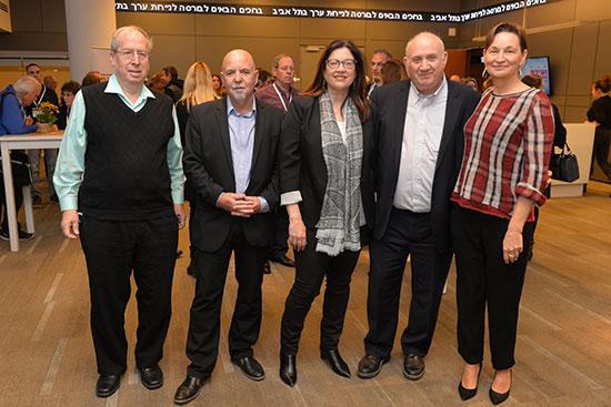 נחמה ברין, איציק אברכהן, רונית הראל בן־זאב, אילן פלטו, צבי סטפק / צילום: גיא אסיאג