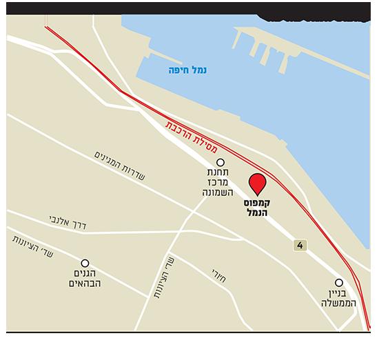 קמפוס הנמל בחיפה