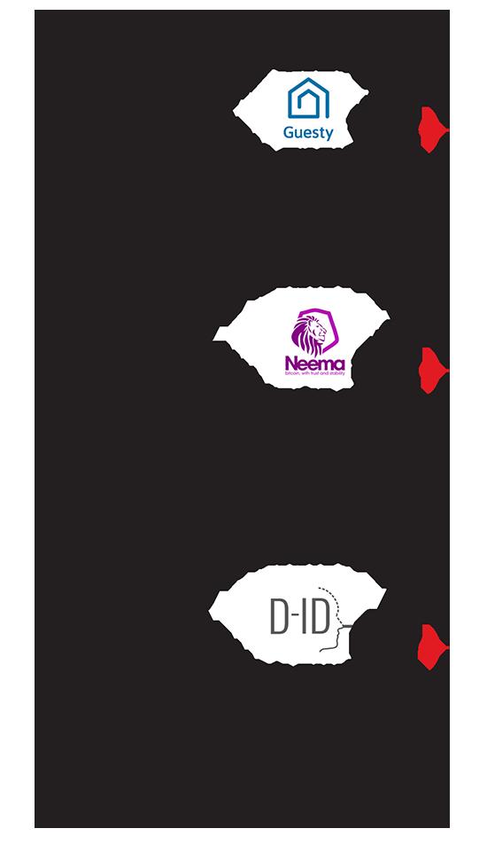 חברות ישראליות בולטות שהשתתפו בתוכנית